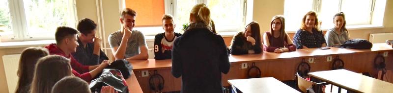 Uczniowie technikum szlifują język grecki przedwyjazdem napraktyki