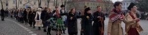Polonez na Starym Rynku w Łowiczu
