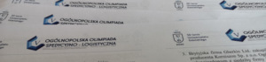 Udział uczniów ZSP nr 4 w V Ogólnopolskiej Olimpiadzie Spedycyjno-Logistycznej