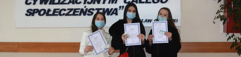 Zespół Szkół Ponadpodstawowych nr4wŁowiczu sukcesem zakończył prestiżowy iambitny projekt unijny