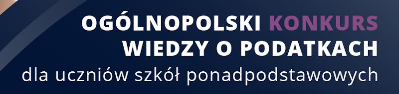 Ogólnopolski Konkurs Wiedzy oPodatkach